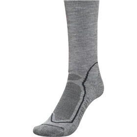 Icebreaker Hike+ Medium Crew Chaussettes Homme, twister hthr/black/monsoon